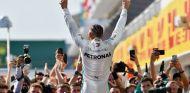 Lewis Hamilton celebra la victoria en Hungría - SoyMotor.com