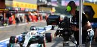 Operador de cámara en el GP de Bélgica 2019 - SoyMotor