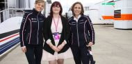 Susie Wolff y Claire Williams - LaF1