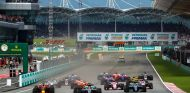 Salida del GP de Malasia - SoyMotor.com