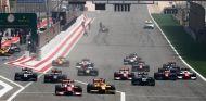 Salida de la primera carrera de la Fórmula 2 en Baréin - SoyMotor
