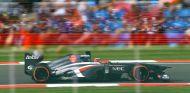 Sauber en el GP de Gran Bretaña