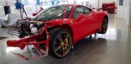 Ferrari 458 Speciale siniestrado a subasta -SoyMotor