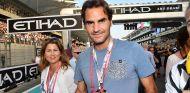 Roger Federer en Yas Marina - SoyMotor.com