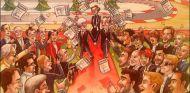 Bernie Ecclestone felicita la Navidad con una divertida tarjeta