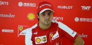 Felipe Massa el jueves en Bélgica - LaF1