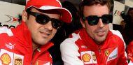 Felipe Massa y Fernando Alonso en Ferrari - LaF1
