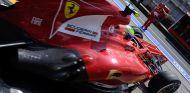 Felipe Massa con el Ferrari F138