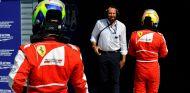 Felipe Massa tras el GP de Italia F1 2013 - LaF1