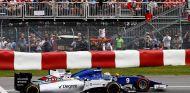 Felipe Massa adelantando a Ericsson - LaF1.es
