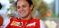 Felipe Massa ayer en la India