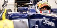 Felipe Nasr durante su debut con Williams en los test de Baréin - LaF1