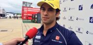 Felipe Nasr habla con la prensa en Silverstone - LaF1