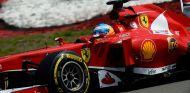 Fernando Alonso durante el GP de Alemania F1 2013