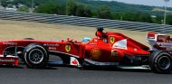 Fernando Alonso en Hungaroring