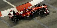 Fernando Alonso en el pasado Gran Premio de Singapur - LaF1