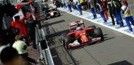 Fernando Alonso tras la conclusión del Gran Premio de Bélgica - LaF1