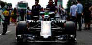 Fernando Alonso en la parrilla de Italia - LaF1