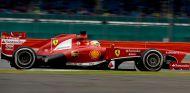 Fernando Alonso con el Ferrari F138
