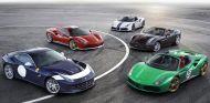 Los cinco primeros ejemplos de esta edición especial del 70 aniversario de Ferrari - SoyMotor