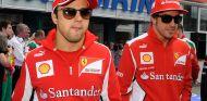 Felipe Massa y Fernando Alonso en Alemania 2012 - LaF1