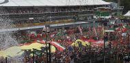 Podio del Gran Premio de Italia - LaF1