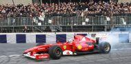 Un F60 en las manos de Giancarlo Fisichella - LaF1
