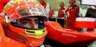 Esteban Gutiérrez subido al Ferrari - LaF1.es