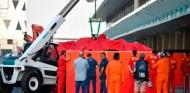Russell lidera el Día 2 de test en Abu Dabi; accidente de Leclerc - SoyMotor.com