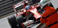 Fernando Alonso, ayer en Montecarlo - LaF1