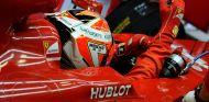 Kimi Räikkönen en el cockpit del F14 T - LaF1