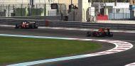 El Ferrari y el Red Bull de 2015 modificados con neumáticos de 2017 en Abu Dabi - SoyMotor