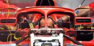 Nueva posición de los espejos retrovisores en el SF71H de Ferrari - SoyMotor.com