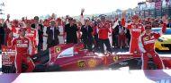 El equipo Ferrari celebró sus 'Finales Mundiales' en Mugello - LaF1