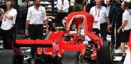 Sebastian Vettel con el SF71H en Australia - SoyMotor.com