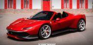 Así sería el Ferrari SP38 Spider
