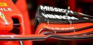 Detalle del alerón delantero del Ferrari SF90 - SoyMotor.com