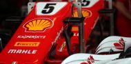 Detalle del box de Ferrari en Brasil - SoyMotor