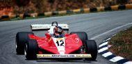 Gilles Villeneuve con el Ferrari 312 T3 - SoyMotor.com