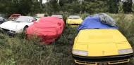 ¿Qué hace una colección de Ferrari abandonada en el campo? - SoyMotor.com