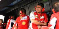 Pitwall de Ferrari en el GP de Hungría