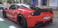 Espectacular Ferrari 458 Italia Liberty Walk por las calles de Mónaco