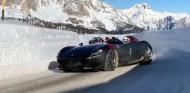 Ferrari Monza SP2 y una carretera helada: arte en movimiento - SoyMotor.com