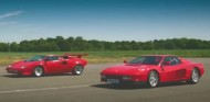 El Ferrari Testarossa y el Lamborghini Countach son dos de los mitos automovilísticos más reconocibles de todos los tiempos - SoyMotor.com