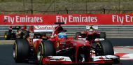 Fernando Alonso y Felipe Massa en el GP de Hungría