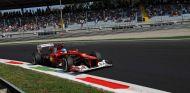 Fernando Alonso en el Gran Premio de Italia de 2012