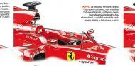 Los tres diseños estudiados; bocetos de La Gazzetta dello Sport - LaF1