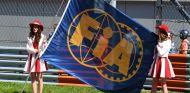 Bandera de la FIA durante el pasado GP de Rusia 2017 - SoyMotor.com