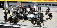 Los mecánicos de Mercedes en el GP de Hungría F1 2019 - SoyMotor