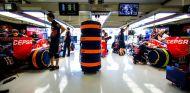 Box del equipo Toro Rosso - LaF1